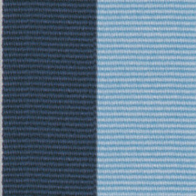 Neck Ribbon - Navy Blue & Light Blue