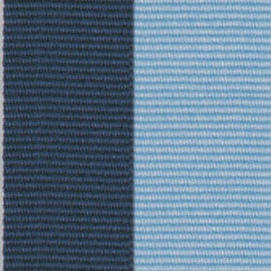 Neck Ribbon - Navy Blue & Light Blue