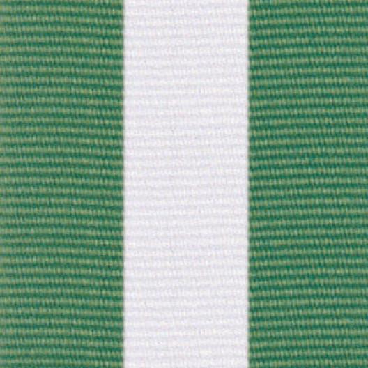 Neck Ribbon - Green, White, & Green