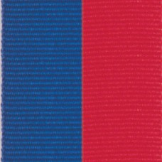 Neck Ribbon - Blue & Red