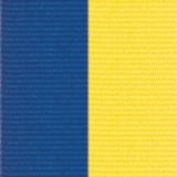 Neck Ribbon - Blue & Yelllow