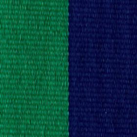 Neck Ribbon - Green & Navy
