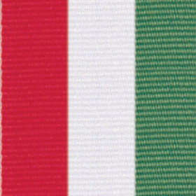 Neck Ribbon - Red, White, & Green