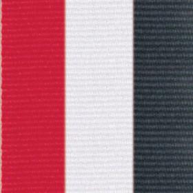 Neck Ribbon - Red, White, & Black