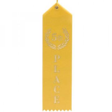 5th Place Ribbon