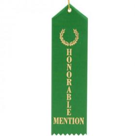 Honorable Mention Ribbon