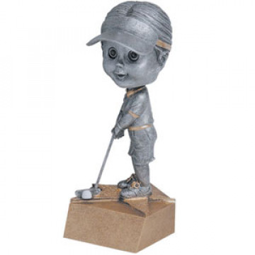 Bobblehead - Golf, Female