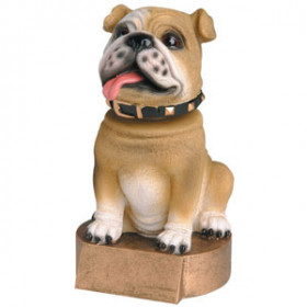 Bobblehead - Bulldog, Brown