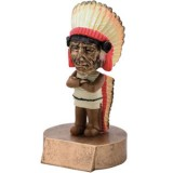 Bobblehead - Indian / Chief