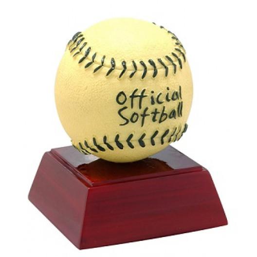 "Softball 4"" Resin"