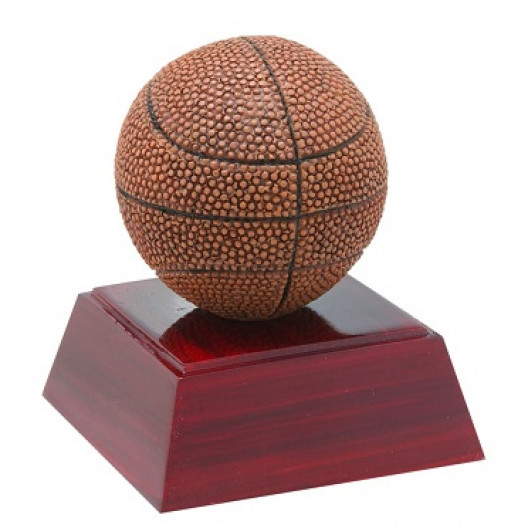 "Basketball 4"" Resin"