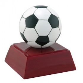 "Soccer Ball 4"" Resin"