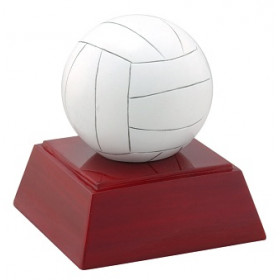 "Volleyball 4"" Resin"