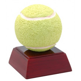 "Tennis Ball 4"" Resin"