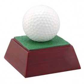 "Golf Ball 4"" Resin"