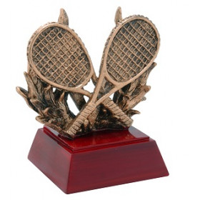 "Tennis Racket 4"" Resin"