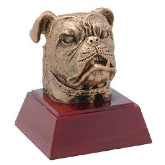 "Bulldog 4"" Resin"