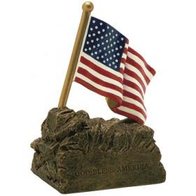 "U.S. Flag 4"" Resin"