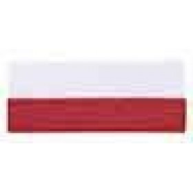 Neck Ribbon - Red & White