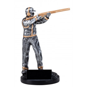 Trap Shooter Resin - 7.5""