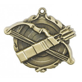 "Archery Medal - 1 3/4"""
