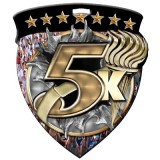 Color Shield Medal - 5K