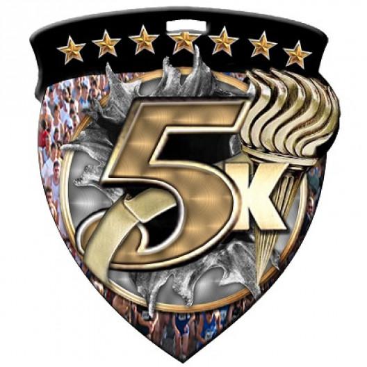 Color Shield Medal - 5K