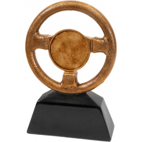 Antique Gold Steering Wheel Award
