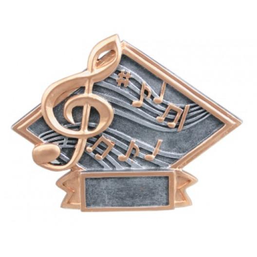 Music Diamond Plate Resin