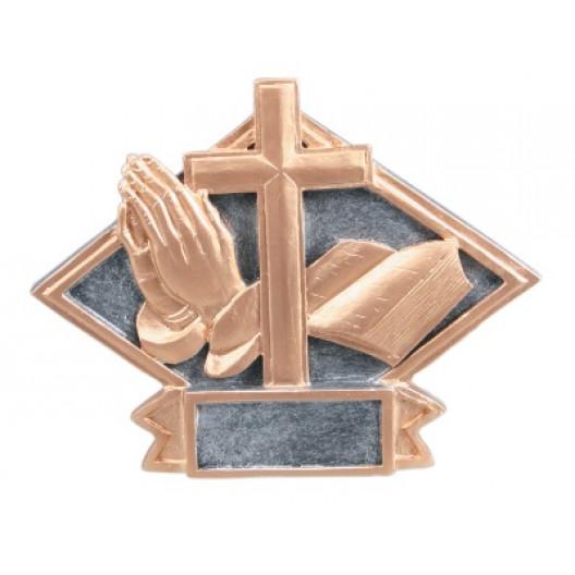 Religious Diamond Plate Resin