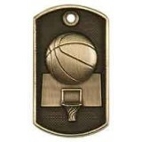 3D Dog Tag - Basketball