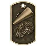 3D Dog Tag - Cheer