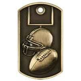 3D Dog Tag - Football