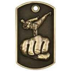 3D Dog Tag - Martial Arts
