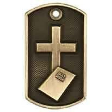 3D Dog Tag - Religious