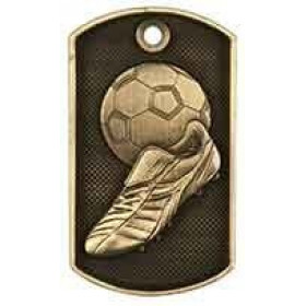 3D Dog Tag - Soccer