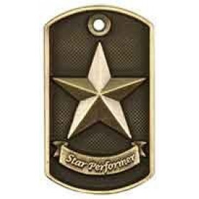 3D Dog Tag - Star Performer