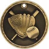 3D Sport Medal - Baseball / Softball
