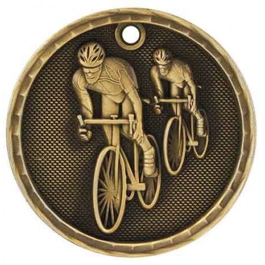 3D Sport Medal - Cycling