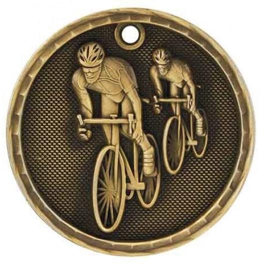3D Sport Medal - Cycling