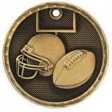 3D Sport Medal - Football