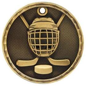 3D Sport Medal - Hockey