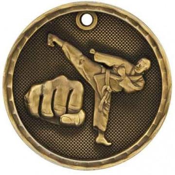 3D Sport Medal - Martial Arts