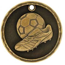3D Sport Medal - Soccer