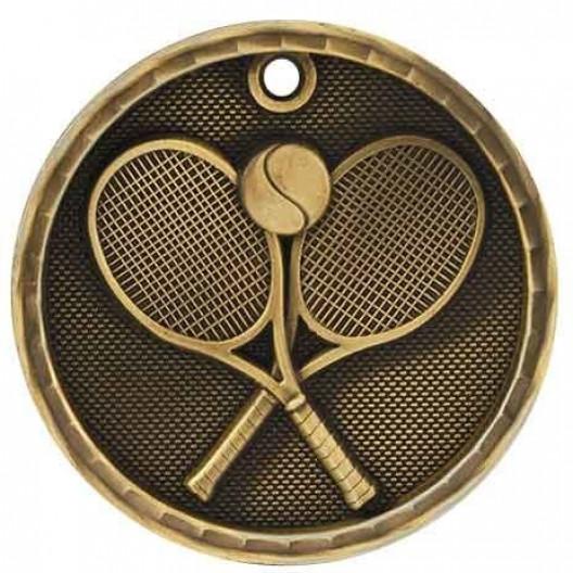 3D Sport Medal - Tennis