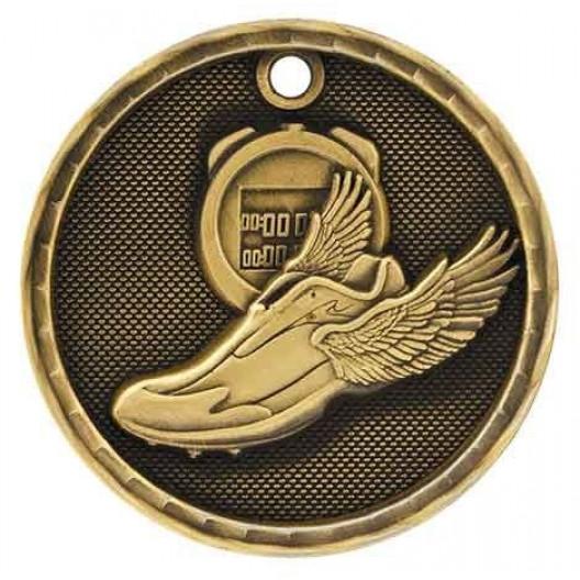 3D Sport Medal - Track