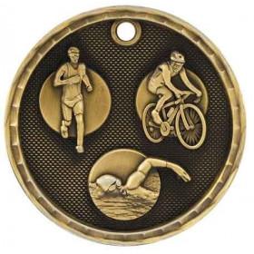 3D Sport Medal - Triathlon