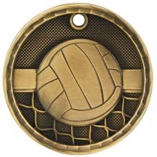 3D Sport Medal - Volleyball