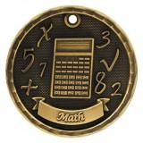 3D Academic Medal - Math