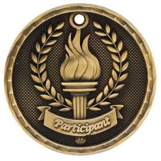 3D Academic Medal - Participant